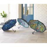 名画フリルジャンプ傘&折りたたみ傘セット 写真