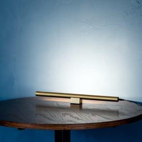 ショートマンクス LEDバーライト ブラス(真鍮) 写真