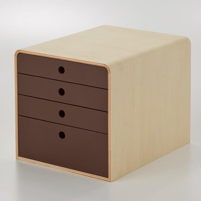 STOCK/ストック A4ファイルケース 幅28cm ブラウン