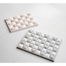 karari/カラリ タイル 珪藻土バスマット 写真