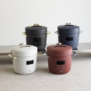 Re・De Pot/リデポット 電気圧力鍋2L 写真