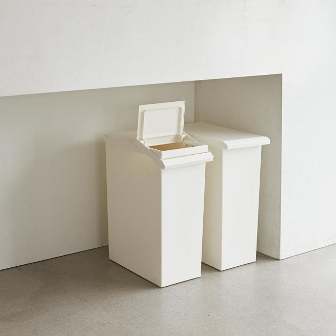 TOSTE/トステ カウンター下ダストボックス 2個組 (ア)ホワイト