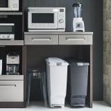 SmartII スマート2 ステンレスシリーズ 間仕切りオープンキッチンカウンター 幅90.5cm高さ100cm