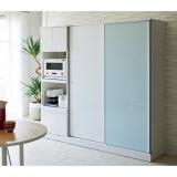 Orga/オルガ 引き戸キッチン収納 家電ボード 幅60cm 写真