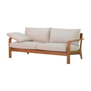 a tempo/アテンポ オーク天然木 木製フレームソファ 2.5人掛け・幅177cm 写真