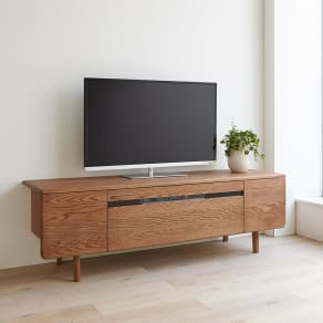 a tempo/アテンポ オーク天然木 テレビボード・テレビ台 幅160cm 写真