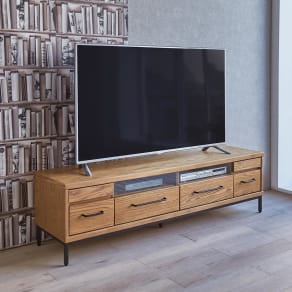 HS Brookryn/エイチエスブルックリン リビングシリーズ テレビボード 幅160cm・高さ45cm 写真