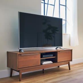 Jalka/ヤルカ ウォルナットシリーズ テレビボード 幅150cm 写真