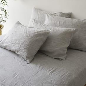 普通判・1枚(French Linen/フレンチリネン カバーリング ピローケース メランジ) 写真