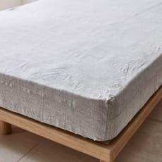 French Linen/フレンチリネン カバーリング ベッドシーツ メランジ
