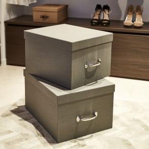Mサイズ収納ボックス 2個セット[BIGSOBOX/ビグソーボックス]スウェーデン生まれの収納ボックス 写真