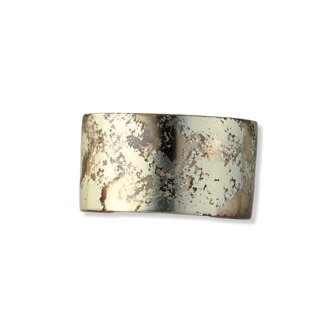HAKUZA/箔座 純金プラチナ箔 アクリル バングル(久遠色レイヤー)