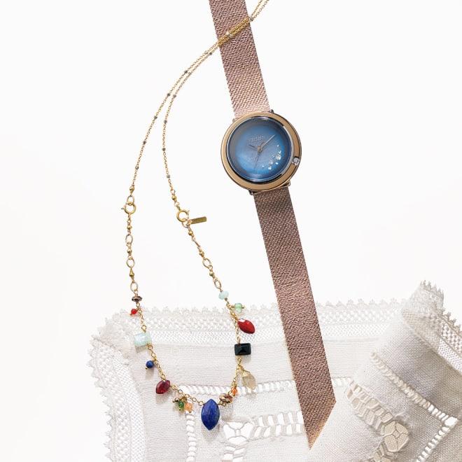 CITIZEN/シチズン CITIZEN L(シチズン エル) 富永愛×チャンルー コラボ限定モデル 『チャンルー』オリジナルネックレス兼ブレスレット付き