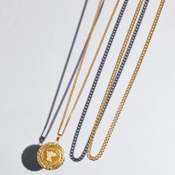 純金 ネックレス (ア)喜平 左から 10g、30g ※ペンダントヘッドは別売りです。