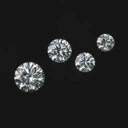 Pt950 Dカラー 1ct ダイヤ リング ご希望のct数でのセミオーダーが可能です。