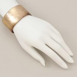 HAKUZA/箔座 純金プラチナ箔 アクリルバングル(久遠色・久遠色レイヤー) (ア)久遠色 着用例