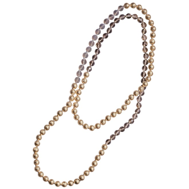 HAKUZA/箔座 箔珠 ロングネックレス(久遠色)
