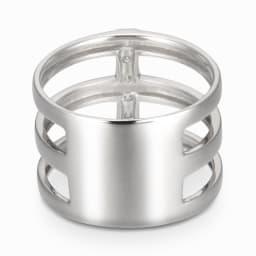 純プラチナ 0.2ctダイヤ デザイン リング