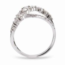 K18 1ctダイヤ デザイン リング