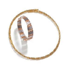 K18 マグネット ネックレス兼ブレスレット 写真