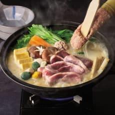 「祇園川上」 白味噌仕立ての国産鴨鍋