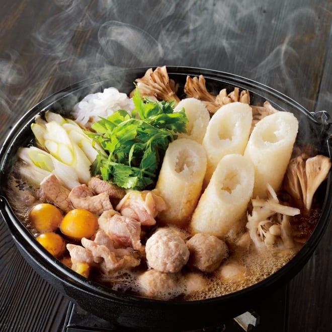 比内地鶏 きりたんぽ鍋セット (3~4人前) 調理例