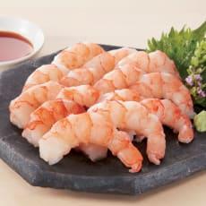 お刺身でも食べられる赤えび(むき身) (500g×2袋) 写真