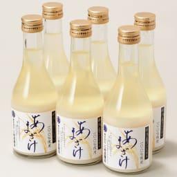 「三崎屋醸造」 新潟こしひかり100%あま酒 (310g×6本) 商品パッケージ