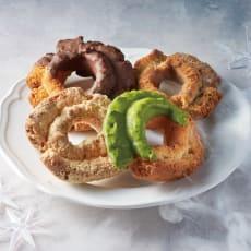 「ウフフドーナチュ」 フローズンドーナツ (4種計22個) 【クリスマスお届け】