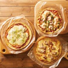低糖専門キッチン「源喜」 具だくさん低糖質ピザ3種セット