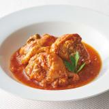ふもと赤鶏トマト煮(骨付きもも) (250g×5袋) 写真