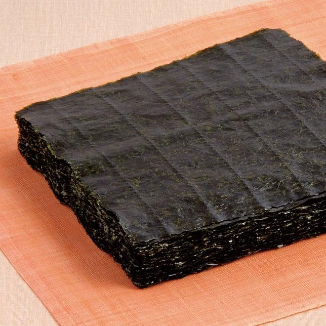 寿司屋のはねだし海苔 (全型10枚×10袋) どーんと100枚お届けします!