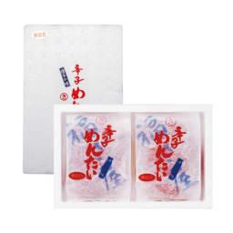 「福さ屋」無着色辛子明太子上切れ子 (400g×2袋) 1袋400g 冷凍でお届けいたします。