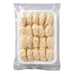 宮城産 特大カキフライ (20粒×2パック) 商品パッケージ