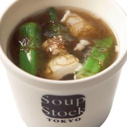 スープストックトーキョー 冷たいスープと人気のスープセット (各180g×8袋) 【お中元用のし付きお届け】 HOT 久米島産もずくとオクラのスープ