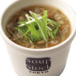 スープストックトーキョー 冷たいスープと人気のスープセット (各180g×8袋) 【お中元用のし付きお届け】 HOT 生姜入り和風スープ