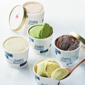 低糖質専門店「フスボン」 低糖質アイス詰合せ (各120ml 計5個) 写真