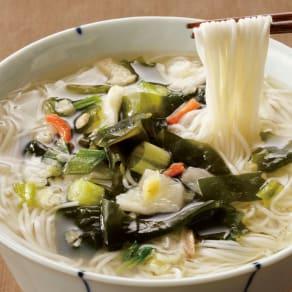 鳥菜にゅう麺 (8食セット) 写真