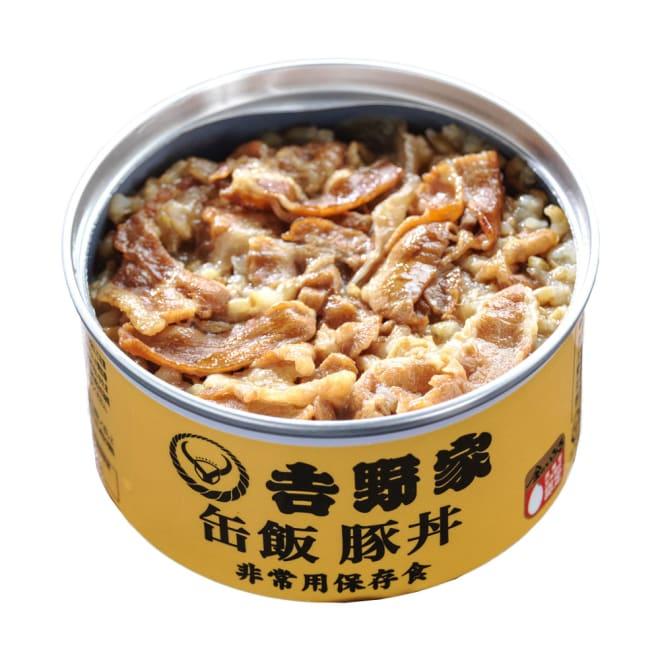 吉野家 缶飯豚丼 6缶セット (各160g) 吉野家のご飯缶詰(豚丼)開封後すぐにお召し上がりいただけます。