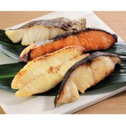 「吉川水産」 西京漬け(切り落とし) (計8切) 【調理例】目利き人が選んだ脂ののった魚を吉川水産オリジナルの西京味噌に漬け込みました。