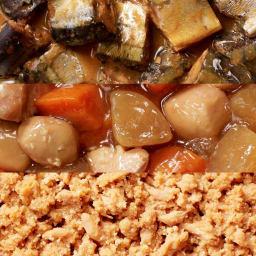 イザメシCAN 12缶セット 骨までやわらかさんまの味噌煮、野菜と鶏肉の旨味しみこむ筑前煮、ごはんのお供に鮭とたらこのオイル漬け
