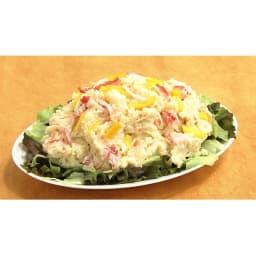 ワケありズワイガニの脚 3Lサイズ (3kg) [調理例]カニのポテトサラダ