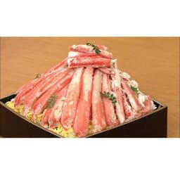 ワケありズワイガニの脚 3Lサイズ (3kg) [調理例]カニちらし