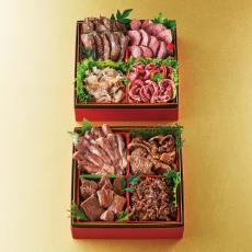 「肉のいとう」 贅沢お肉食べ比べ二段重 2段重(約3~4人前) 全8品