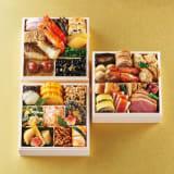 京料理道楽 飯田知史監修おせち 「明の春」 和3段重(約2人前) 全36品 写真