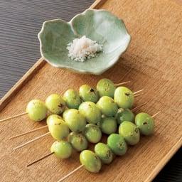 茨城産 翡翠銀杏 (500g) 【盛り付け例】 茶碗蒸しや炊き込みごはんに入れたり、そのまま焼いても美味しくいただけます。