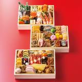 京都祇園「山玄茶」監修 和風おせち三段重 和3段重(約3~4人前) 全62品 写真