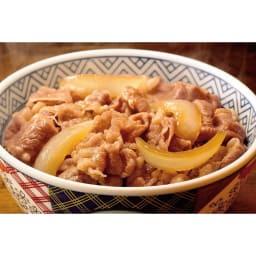 吉野家の牛丼 (10食) 【盛り付け例】あの吉野家の味がご家庭で