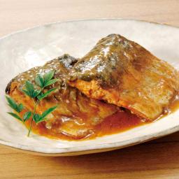 三陸の煮魚惣菜4種セット (4種×3袋 計12袋) 【盛り付け例】さばの味噌煮