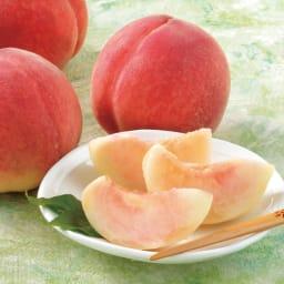 芦沢さんの桃 3種頒布会 (7月~9月) 山梨 芦沢さんの白桃